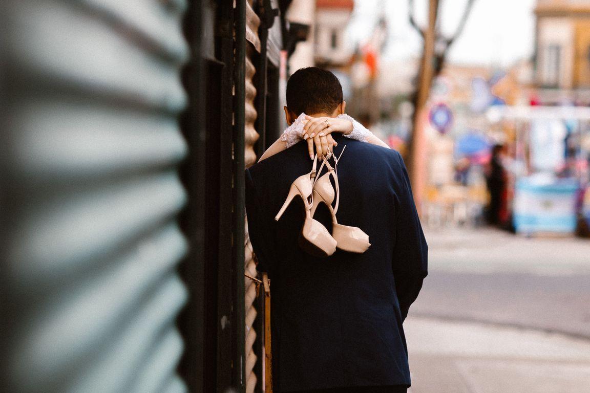 Sapato noiva em Buenos Aires
