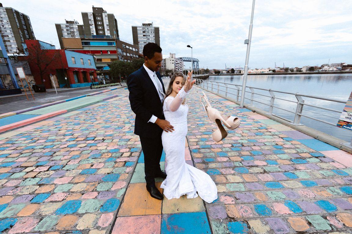 Casal em Buenos Aires