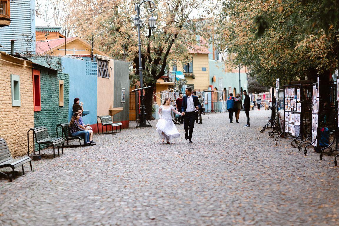 Pós Wedding Gaminito em Buenos Aires