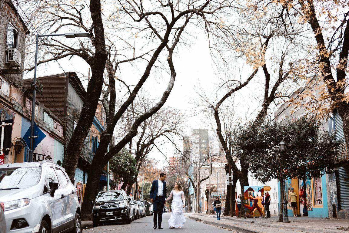 Ensaio casamento em Buenos Aires
