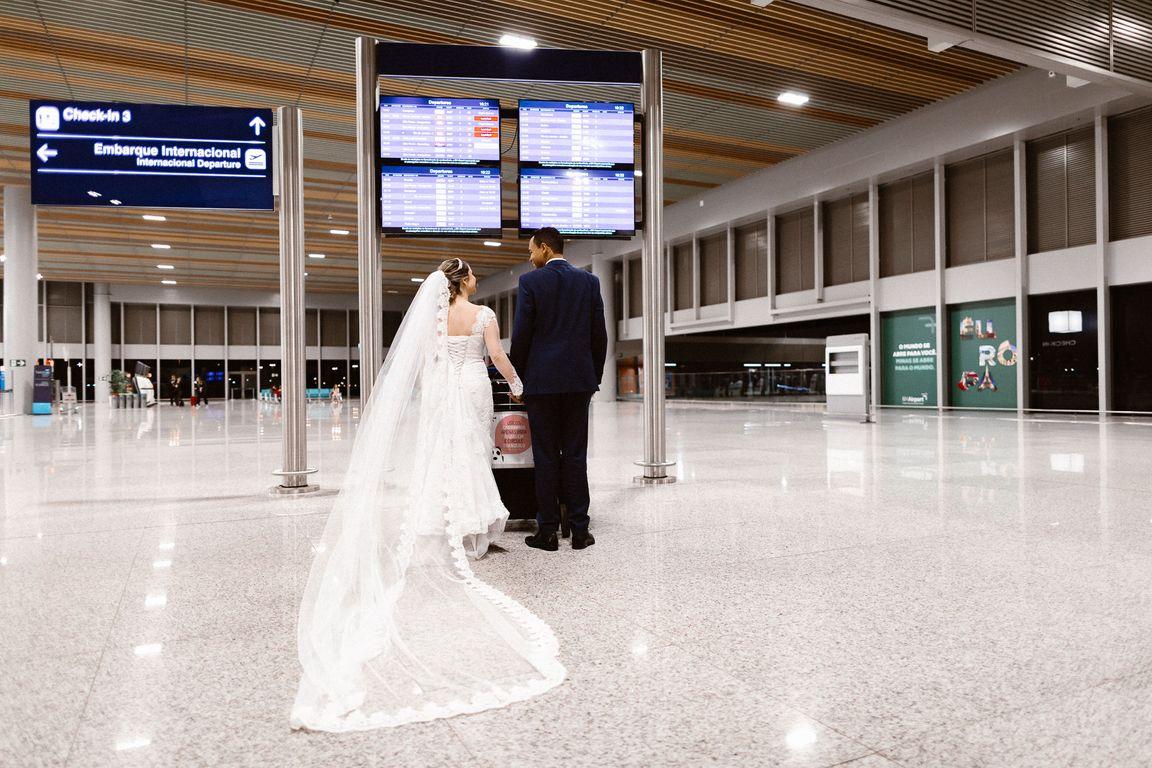 Pós Wedding aeroporto de Belo Horizonte