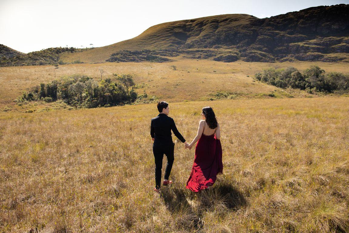 Ensaio Pré Wedding em Lavras Novas