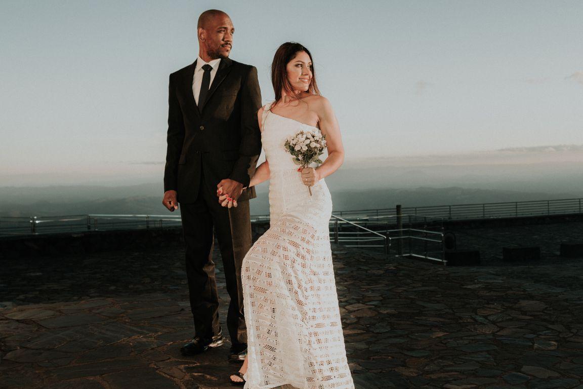 ensaio de casamento na serra da piedade em caete mg Emilene e Vinicius