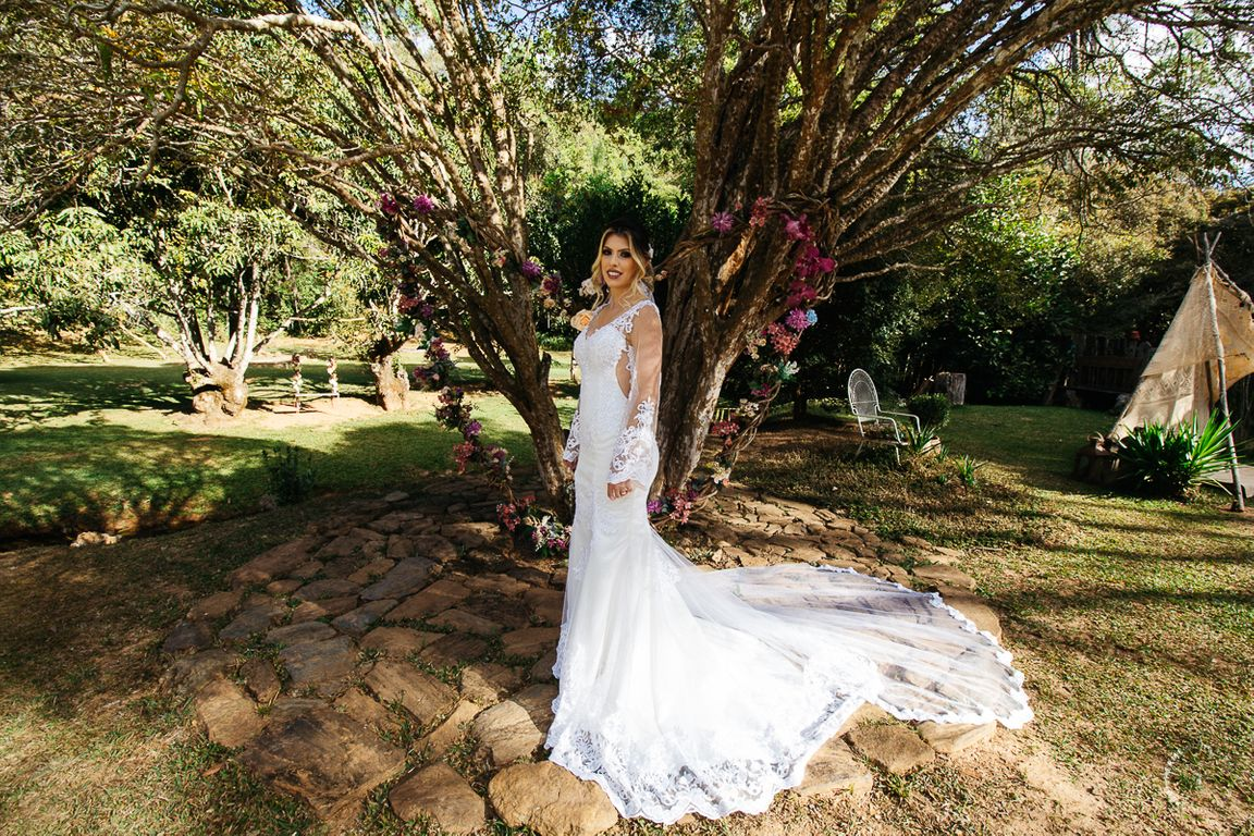 Pos casamento Jessica e Fabricio Boungainville Farm